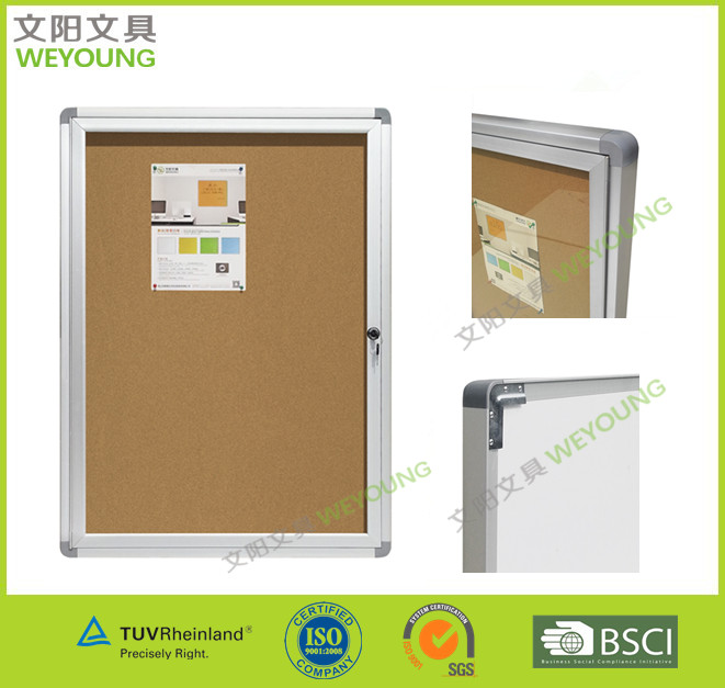 For outdoor used--Bulletin Showcase/Lockable Bulletin Showcase
