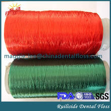 dental floss type colored dental floss thread for dental floss coil produce