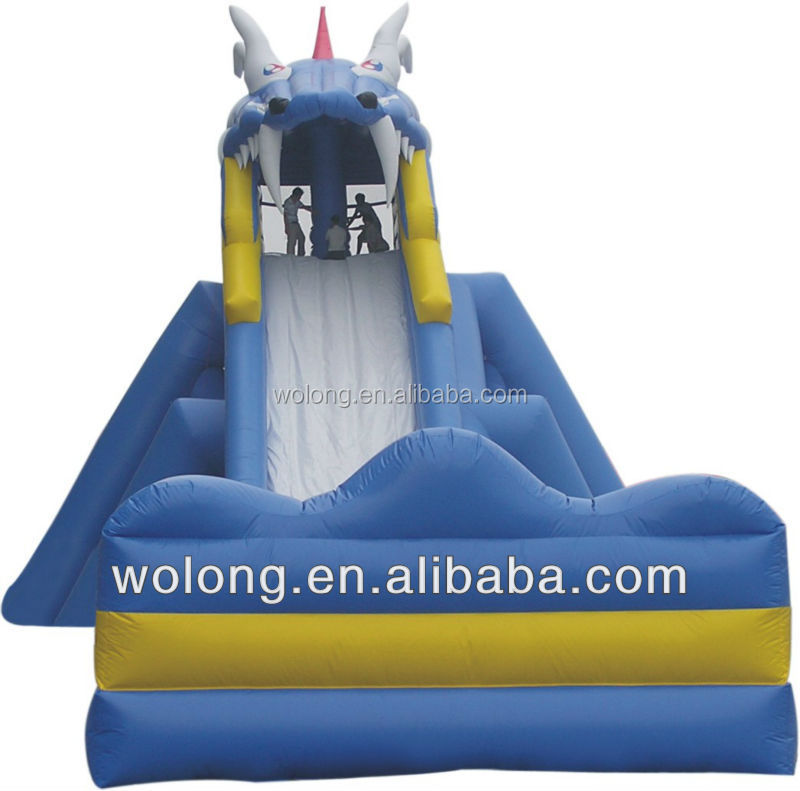 high quality large inflatable slide for adult, inflatable toys for kids