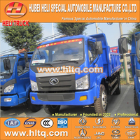 FOTON 4X2 5tons tipper lorry 102hp hot sale with high performance for export