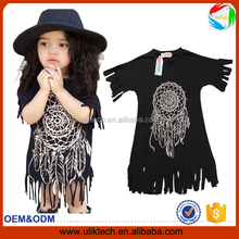 hot selling latest design kids dress elegant one pices dress children clothing for baby girls dress