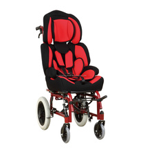Rehabi Aluminum chair frame high back reclining wheelchairs for cerebral palsy children