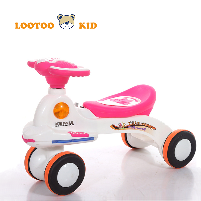 Alibaba trade assurance china factory palstic newest model baby cheap ride on toys