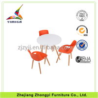 Excellent quality low price hideaway dining table and chair set