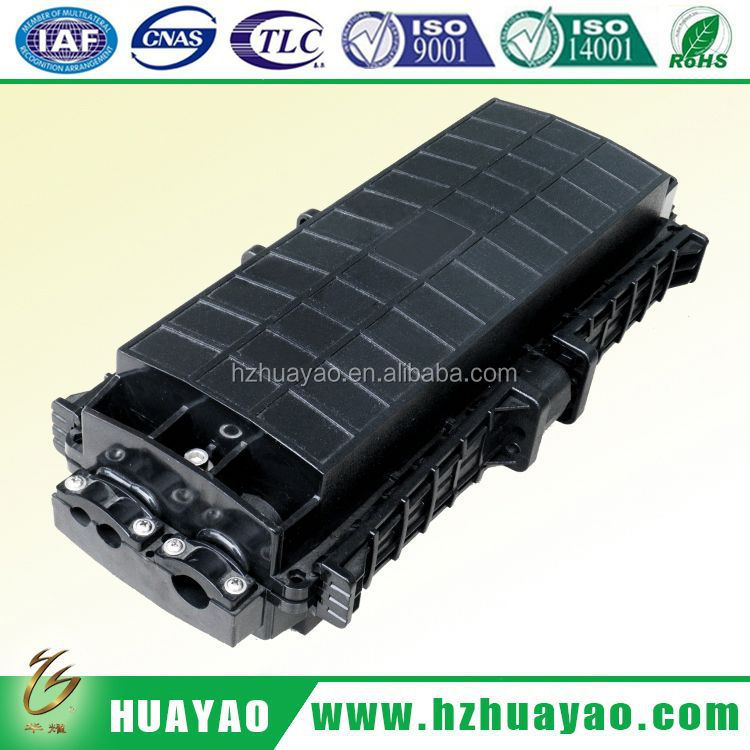 2014 hot sale plastic fiber optic junction box 3 inlet 3 outlet