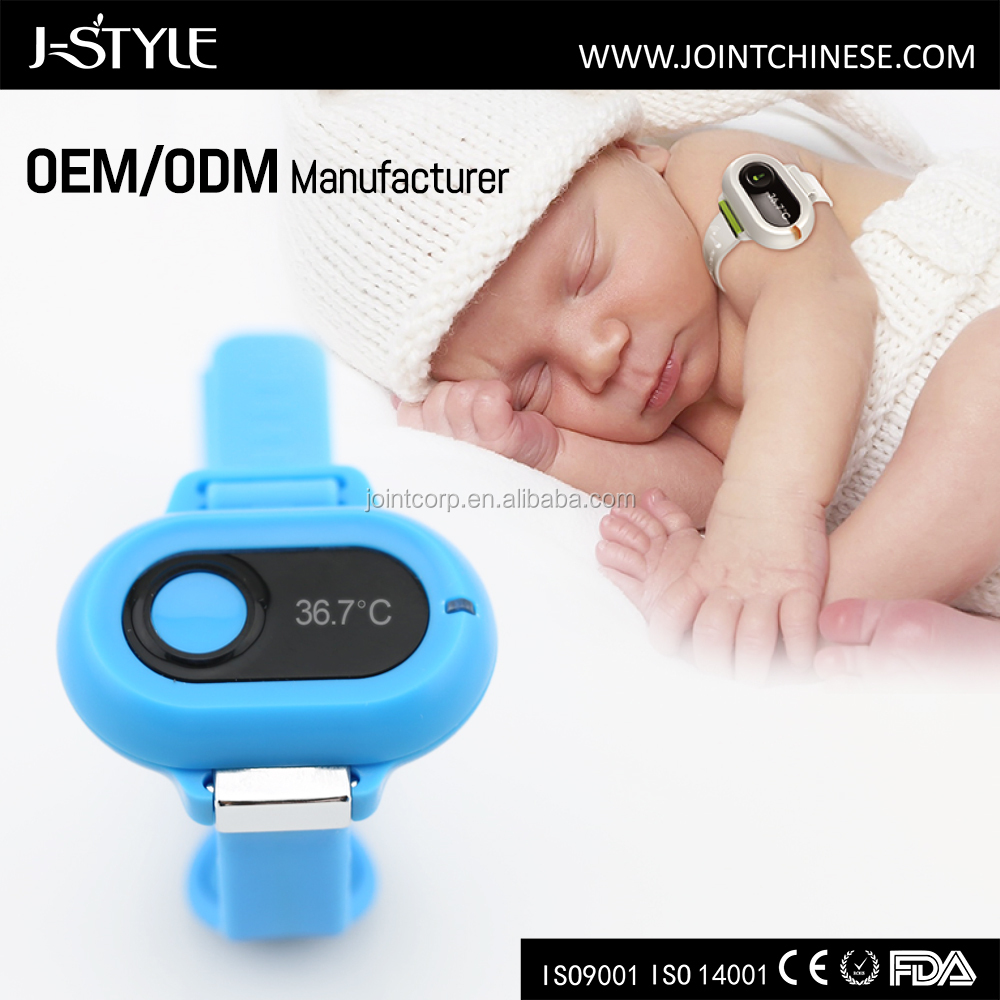J-style Bluetooth Baby Thermometer Monitor For 0 To 3 Years Baby/Smart Thermometer