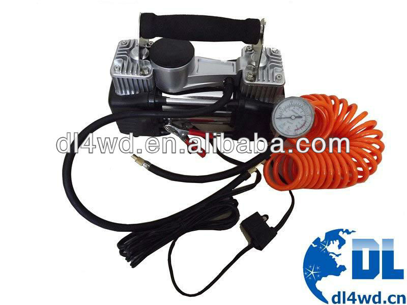 4x4 DC 12V mini car air compressors tire inflators mini portable air compressor