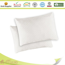 Hotel Adjustable Loft - Shredded Hypoallergenic Certipur Memory Foam Pillow with Washable Removable Cooling Bamboo Derived Rayon