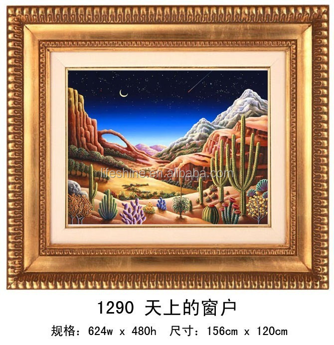 """The windows of the heaven "" DIY Full Diamond Painting"
