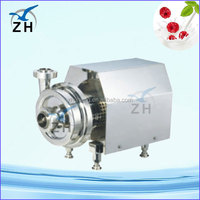 Sanitary stainless steel horizontal split case centrifugal pump