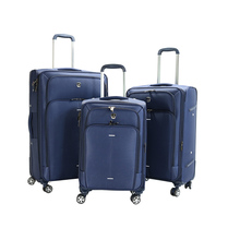 Wholesale hot selling 3pcs set 20 24 28 inch trolley suitcase 4 wheels luggage bags cases
