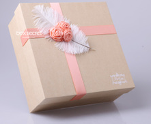Quality creative custom made fancy candy box for wedding