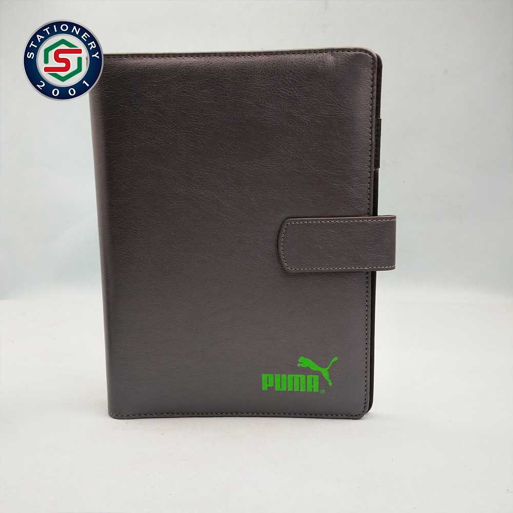 Fashion Business Cards Organizer A6 Leather Travel Portfolios Cards