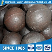Dia 40mm superhigh chrome alloy casting grinding steel ball for SAG mill