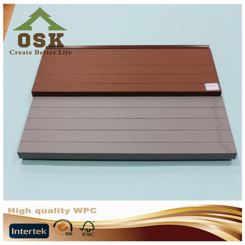2017hot sale outside wood plastic composit wpc panel boards plastic wall panels