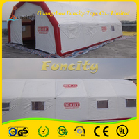 0.9mm PVC Tarpaulin Inflatable Relief Tent/Inflatable Medical Tent