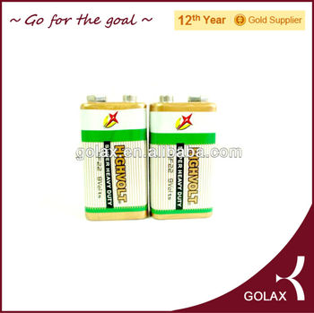 6f22 9V battery HIGHVOLT