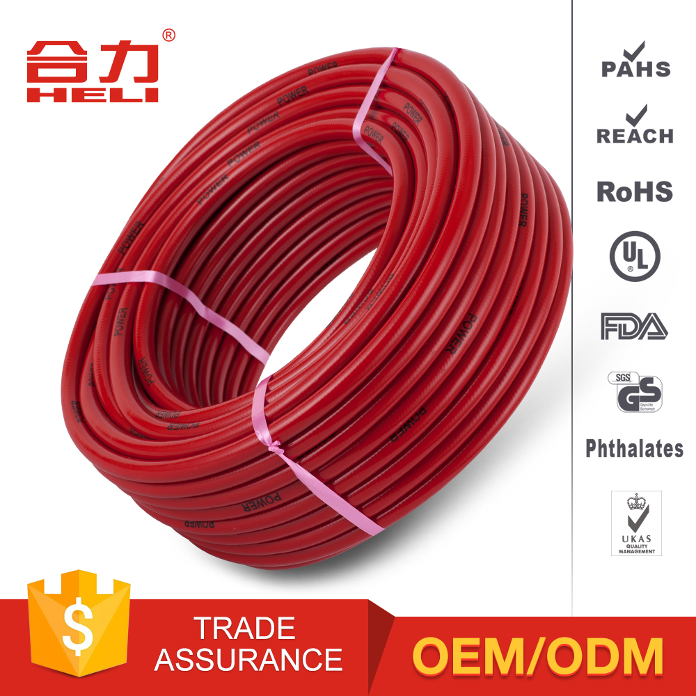 Flexible User-Friendly Nylon Reinforced Pink Garden Hose