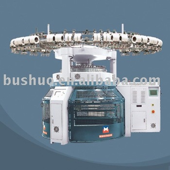 Computerized Double Jersey Jacquard 3 Levers Circular Knitting Machine