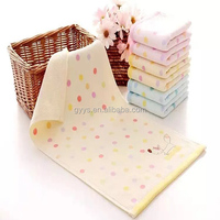 China wholesale Custom 100% organic cotton terry Face towels in bulk