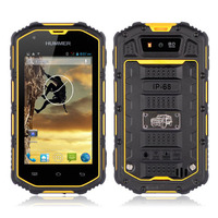 Wholesale 4 inch android 4.2 mtk6572A Dual Core Dual Sim Card 3G Waterproof Hummer H5 Rugged Smartphone