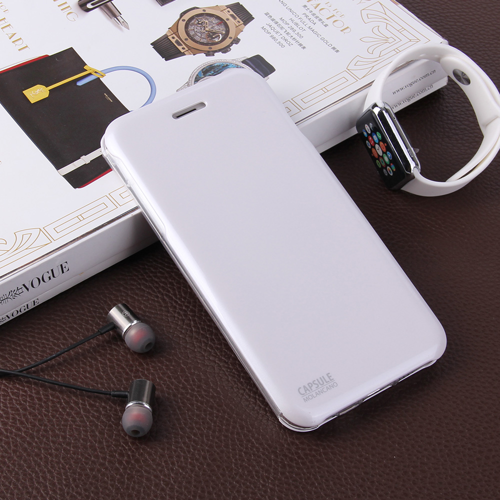 Hot Molan Cano Magnetic Capsule Hard Flip Case For iPhone 6 Plus, For iPhone 6 6Plus Flip Phone Case