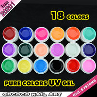 20201 CANNI Nail Art Design UV Paint Gel Factory Wholesale Supplies 18 Colors Nail Painting UV Gel Lacquer UV Color Change Ink