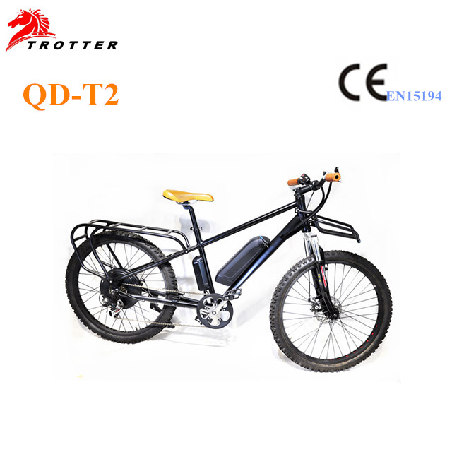 Newest 36V  Frame Dashpot mountain electric bicycle