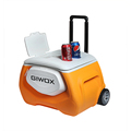 2018 high quality Insulation Picnic Ice Cooler Box with Wheels for Car