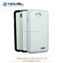 New Arrived! Sublimation Blank Phone Cover for LG L70
