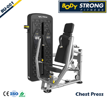 Chest press Hip Adduction Low Row commercial strength gym fitness equipment BU Series