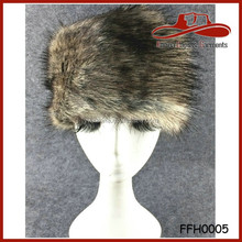 New Fashion Women's Russian Cossack Style Winter Warm Faux Fur Trapper Ski Hat