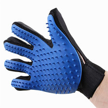 Wholesale Silicone Pet Message Gloves Brush Hair Removal Tools Dog Bath Glove
