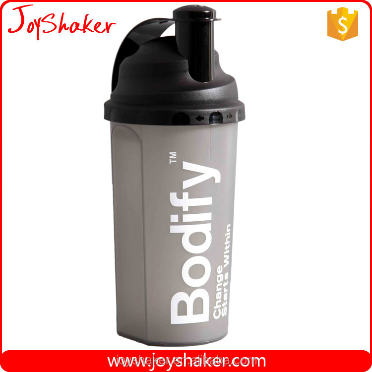 700ML Protein/Vitamin Powder Plastic Shaker Bottles, Smart Joyshaker BPA Free Shaker