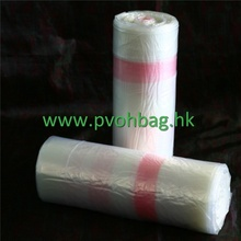 PVA water soluble laundry bag for infection control
