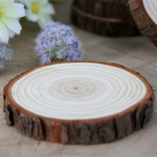 round wood pieces log slices discs for diy crafts wooden show piece