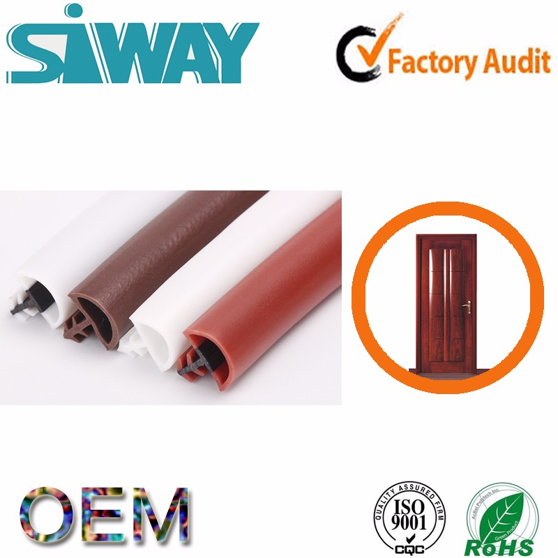 OEM epdm aluminium shower sliding door rubber heat-resistant silicone rubber seal strip