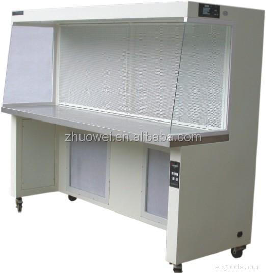 Horizontal industrial clean bench,portable laminar flow hood with UV LAMP