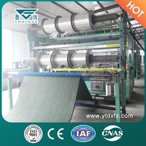 New Design Knitting Machine Weaving Playground Artificial Grass Carpet For Football
