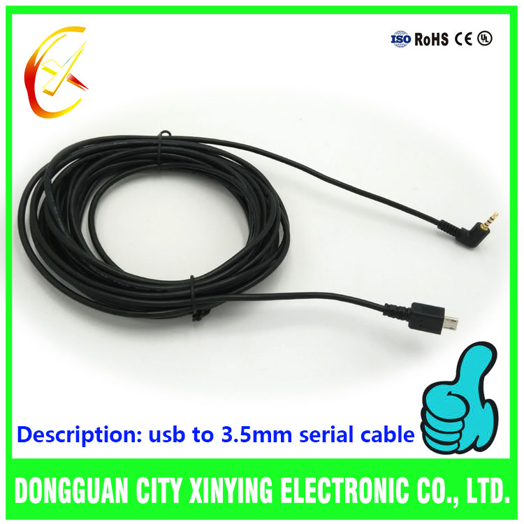 Hot selling China usb to 2.5mm jack cable adapter