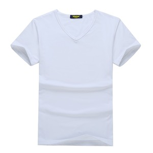 Trade assurance polyester spandex t-shirts cheap white t shirts in bulk