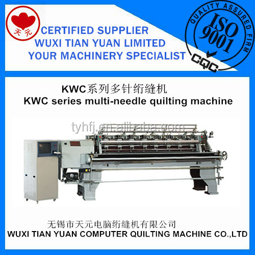 KWC Series Lock Stitch Multi-Needle Quilting Machine,Multi Needle Embroidery Machine For Sale