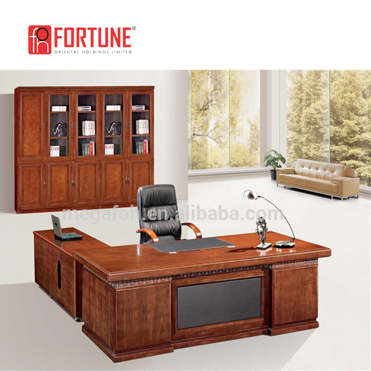 Wooden CEO Table/Executive Office Table Design for USA Market(FOHS-A22153)