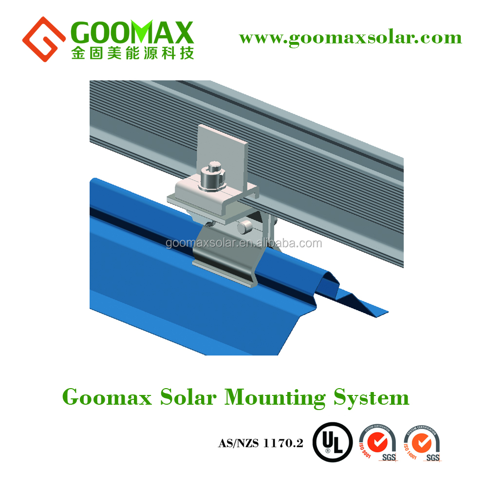 Photovoltaic PV kits clamp