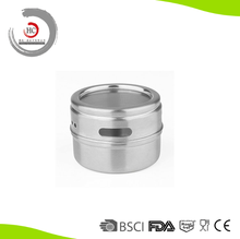 Popular stainless steel magnetic spice jar