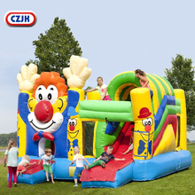 Combo Commercial Clown Inflatable Bounce House