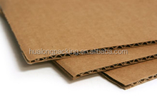 3-layer brown corrugated paper sheets