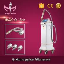 1064nm 532nm Q switch nd yag laser for tattoo removal&pigment therapy picosure laser freckles age spots
