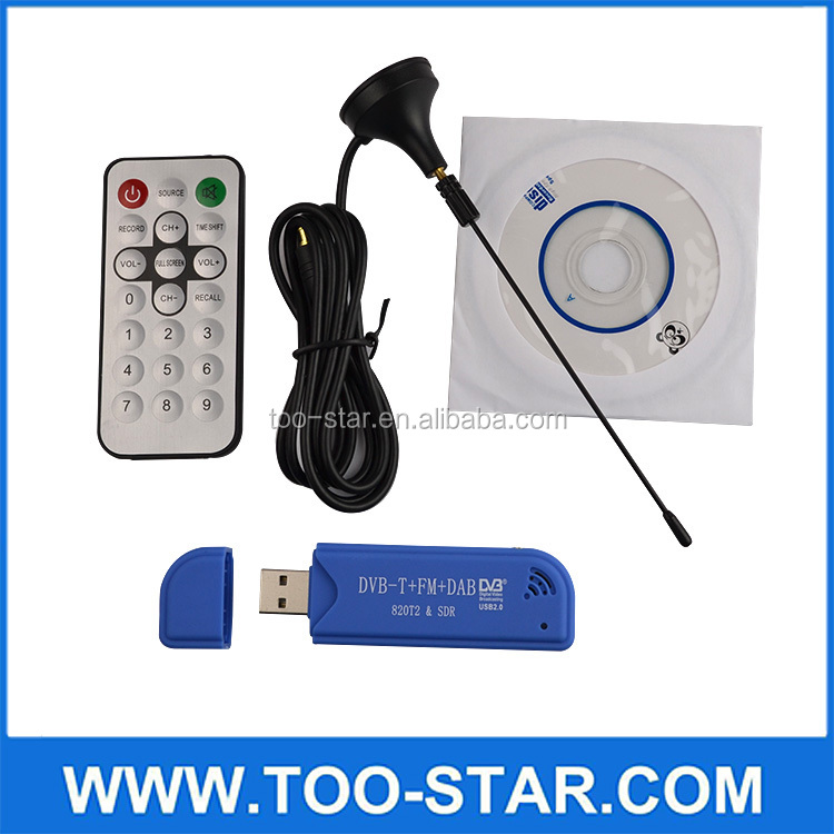 1080P Full hd usb tv receiver tuner dvb-t2 Muti Standards DVB-T2/DVB-T/DVB-C/DVB/FM usb dvb-t2