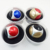 Multi-Color Aluminum alloy Football Hand Spinner Fidget Toy with high speed